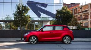Suzuki Swift sở hữu bề ngoài phù hợp cho nam giới lẫn nữ giới.